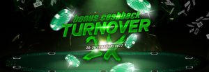 You Play We Pay 2x – Cashback Turnover Pokerboya