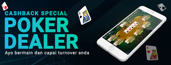 CASHBACK SPECIAL POKER DEALER