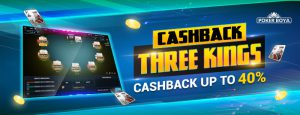 Cashback Three Kings