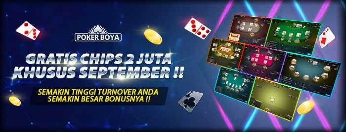 GRATIS CHIPS 2 JUTA KHUSUS SEPTEMBER